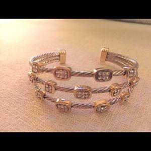 Simple yet Elegant Silver/Gold Bracelet